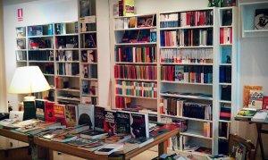La librería Pequod Llibres, en la calle Milà i Fontanals 59 de Barcelona.