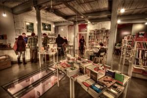 La librería Tipos Infames, en la calle San Joaquín 3 de Madrid.