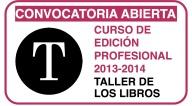 Máster de Edición. Taller de los Libros. Curso de Edición Profesional de Taller de los Libros.
