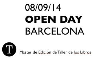Máster de Edición de Taller de los Libros. Curso de Edición Profesional. Madrid Barcelona.