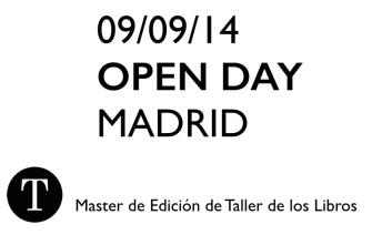 Máster de Edición Taller de los Libros Madrid Barcelona. Curso de Edición Profesional. Editoriales independientes.