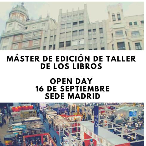 Máster de Edición de Taller de los Libros. Aprender edición en Barcelona. Estudiar edición en Madrid. Qué estudiar para ser editor.